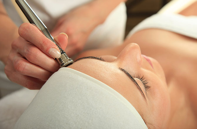 Microdermabrasion at Estetica