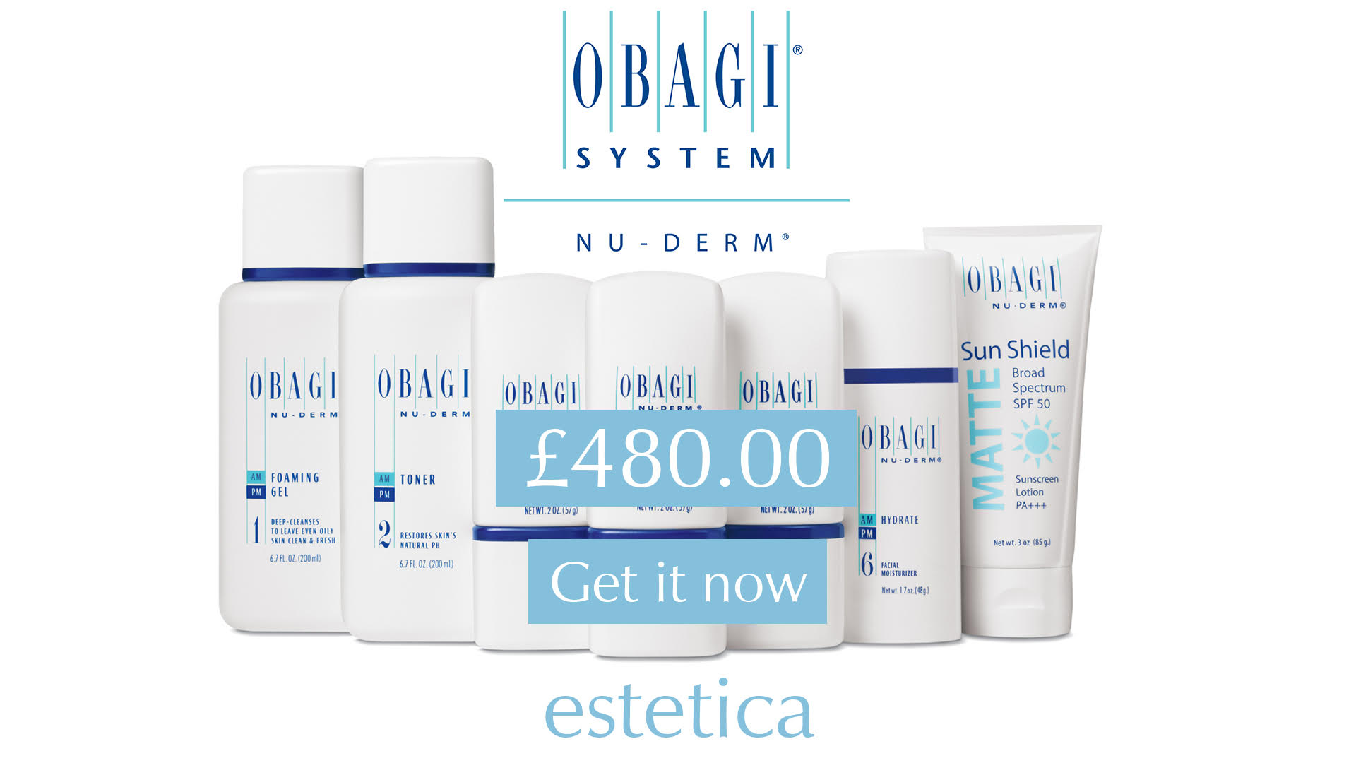 Obagi Nu-Derm at Estetica