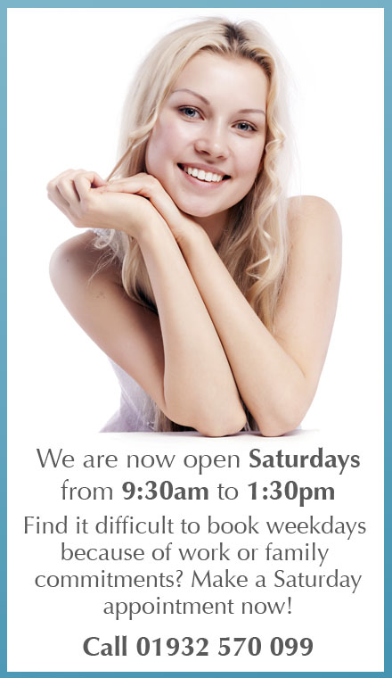 We are now open Saturdays from 9:30am to 1:30pm