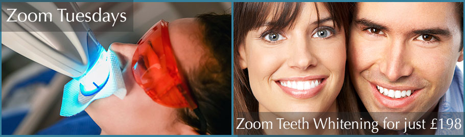 Zoom Teeth Whitening Special Offer from Estetica Chertsey